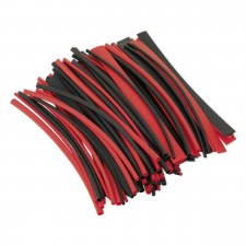 Heat Shrink Tubing - Black & Red